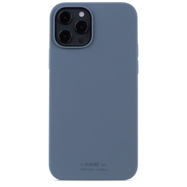 Holdit Silicone Case iPhone 12 Pro Max Pacific Blue