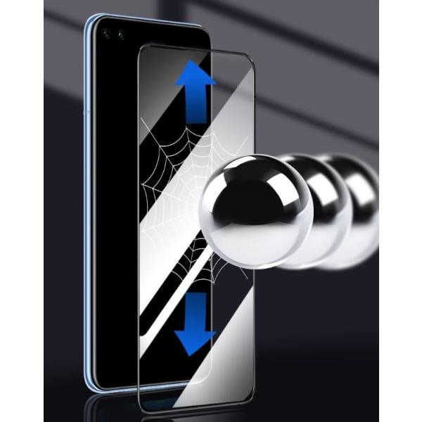 Heltäckande härdat skärmskydd till Realme X50