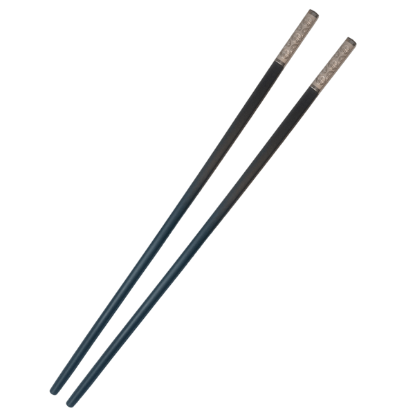 QiQuan - Silverfärgat Emblem 10-P