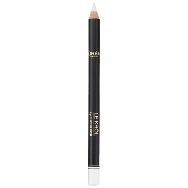 L'Oreal Superliner Le Khol Eye Pencil - 120 Immaculate Snow