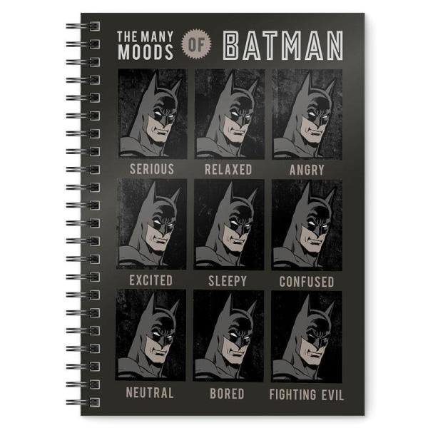 Muistikirja - Batman - DC Comics Multicolor