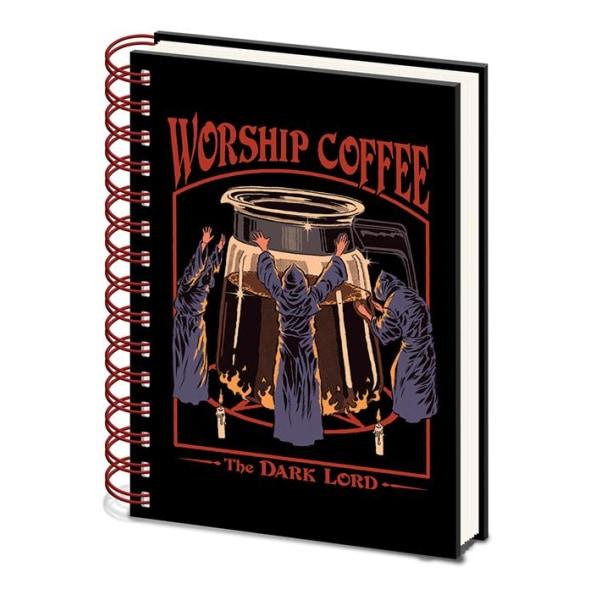 Anteckningsbok - Steven Rhodes (Worship Coffee) Multicolor
