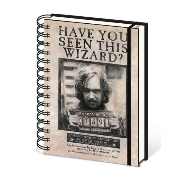 Muistikirja - Harry Potter (Wanted Sirius Black) Multicolor