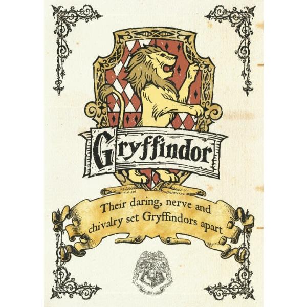 Pergament - Harry Potter - Gryffindor Crest Multicolor