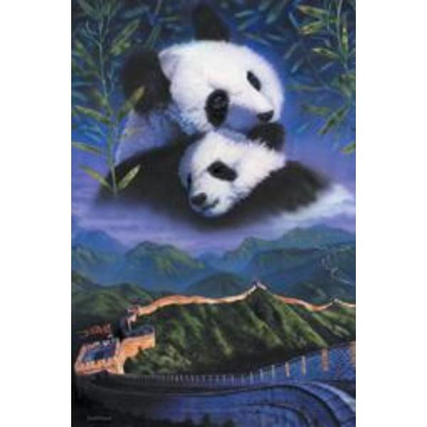 Great Wall - Pandas Multicolor
