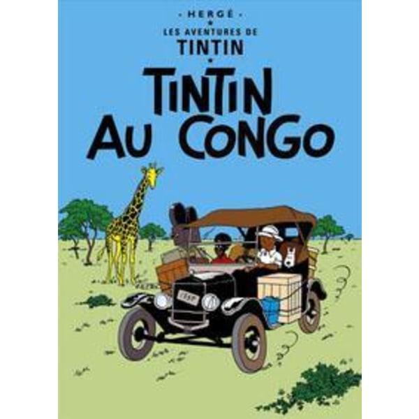 Poster - Tintin au Congo - Tintin i Kongo multifärg