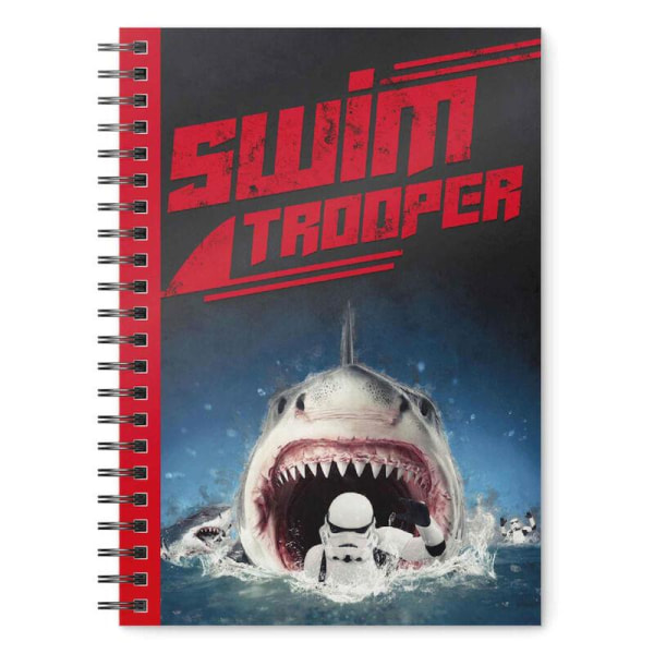 Anteckningsbok - Star Wars - Original Stormtrooper - Swimtrooper Multicolor