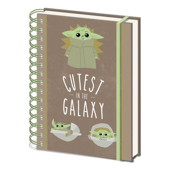 Muistikirja - Star Wars The Mandalorian (Cutest In the Galaxy Multicolor
