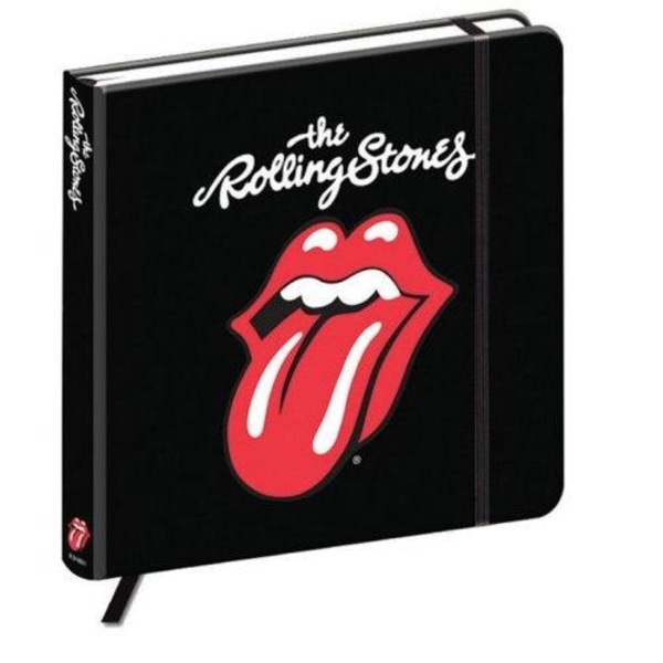 Muistikirja - The Rolling Stones - Classic Tongue Multicolor