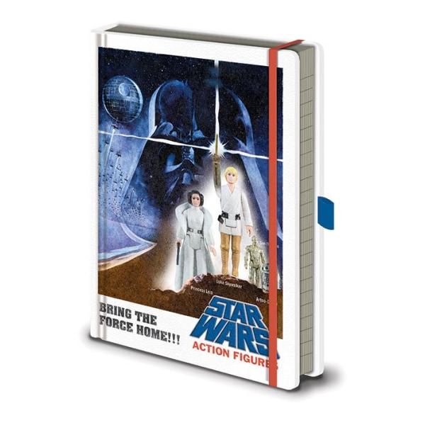 Anteckningsbok - Star Wars - Action Figures Multicolor