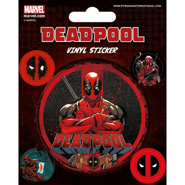 Vinyl Sticker Pack - Klistermärken - Deadpool (Stick This) Multicolor