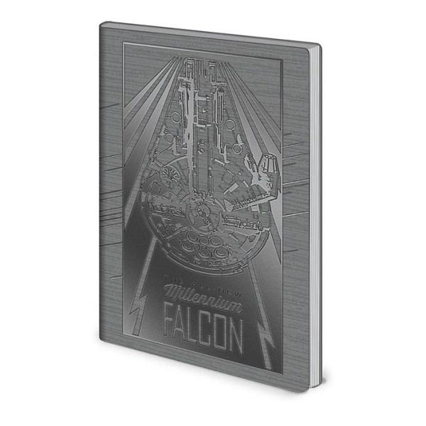 Muistikirja - Star Wars - Millennium Falcon Multicolor