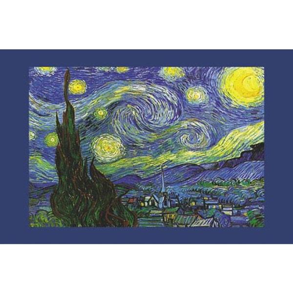 Vincent Van Gogh - Nuit Etoilee Multicolor