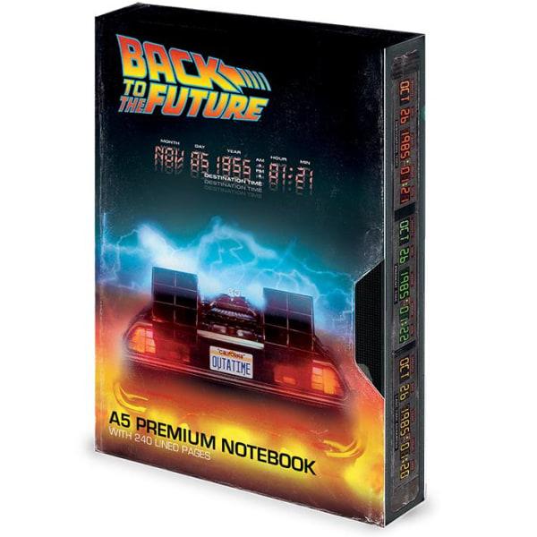 Anteckningsbok - Back to the Future (Great Scott) VHS Multicolor