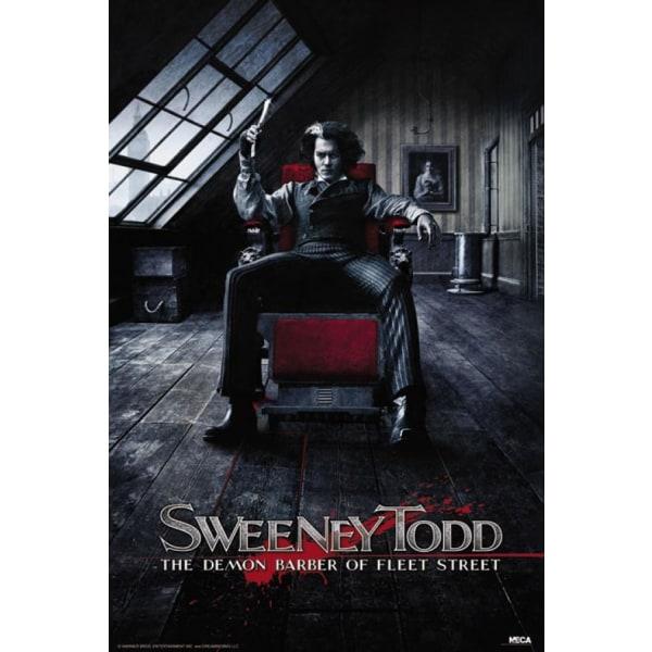 Sweeney Todd - The deamon barber of Fleet Street sitting Multicolor