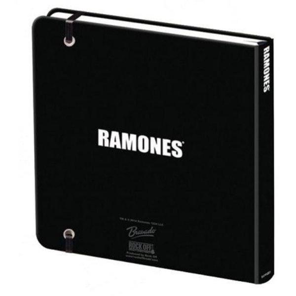 Muistikirja - Ramones - Presidentin sinetti Multicolor