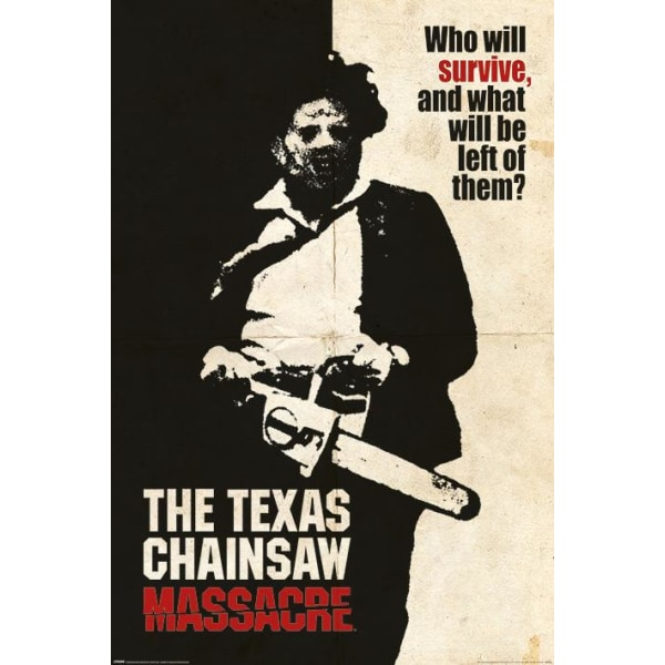 Texas Chainsaw Massacre (Hvem vil overleve?) Multicolor