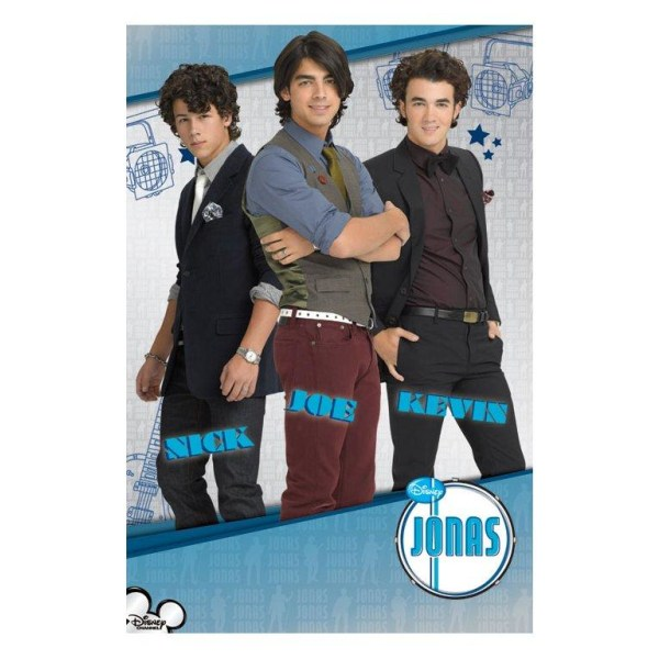 The Jonas Brothers Multicolor