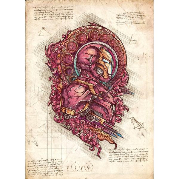 Pergament - Ringenes Herre - Tabt ring, stor belønning Multicolor