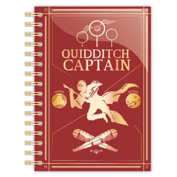 Anteckningsbok - Harry Potter - Quidditch Captain Multicolor