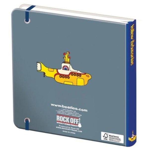 Anteckningsbok - The Beatles - Yellow Submarine Multicolor