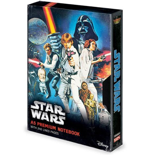 Muistikirja - Star Wars (A New Hope) VHS Multicolor