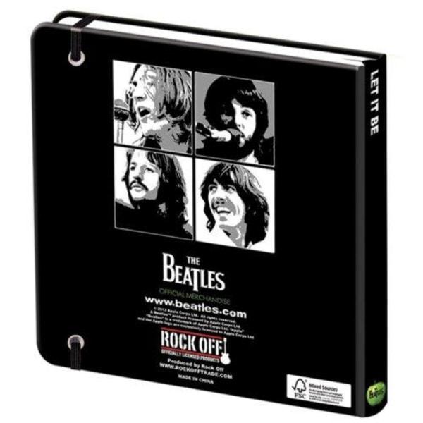 Anteckningsbok - The Beatles - Let it Be Multicolor