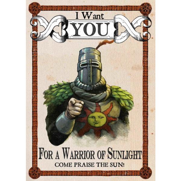 Pergament - Dark Souls - Warrior of Sunlight Multicolor