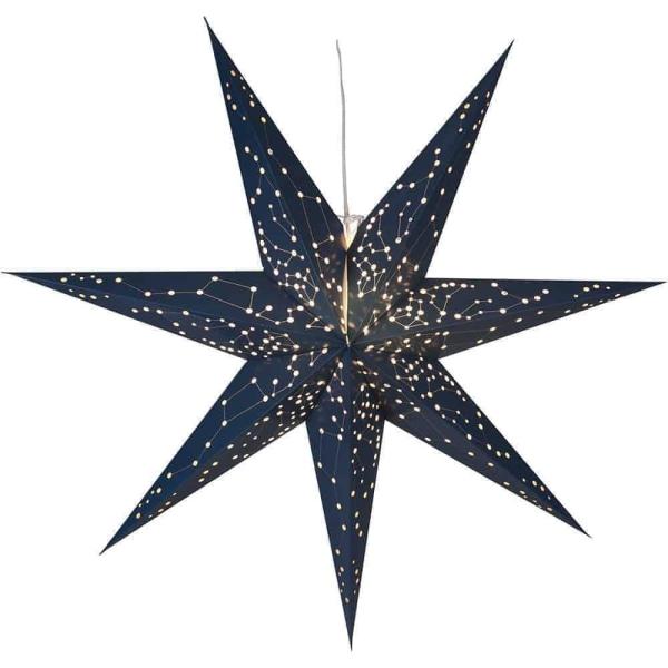 Galaxy adventsstjärna blå 60 cm