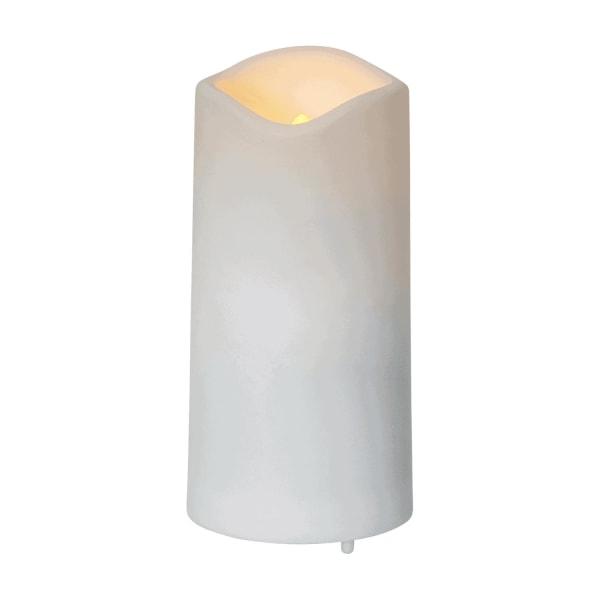 Batteridrivet gravljus med ljussensor och timer 10cm