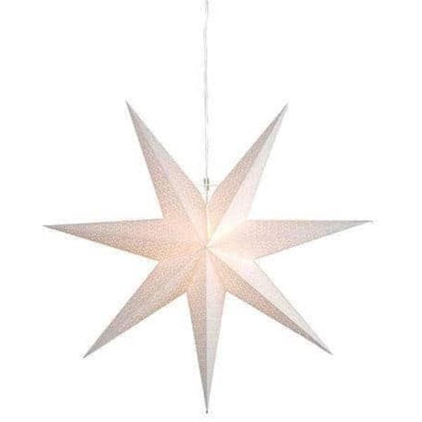Dot Star 100cm pappersstjärna vit