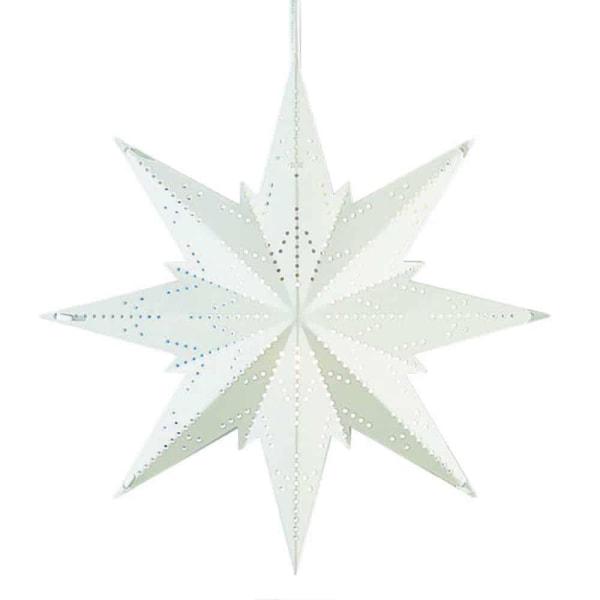 Mini Classic adventsstjärna vit