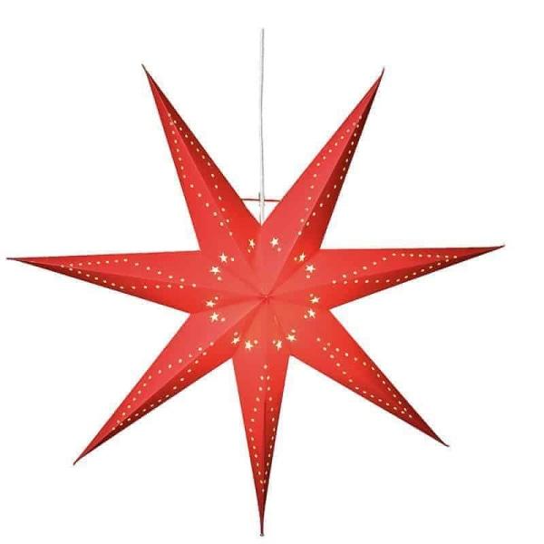 Katabo stjärna 70cm röd