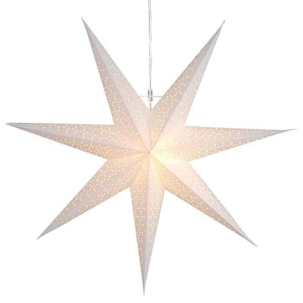 Dot Star 70cm pappersstjärna vit