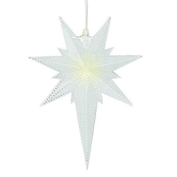 Betlehem stjärna vit