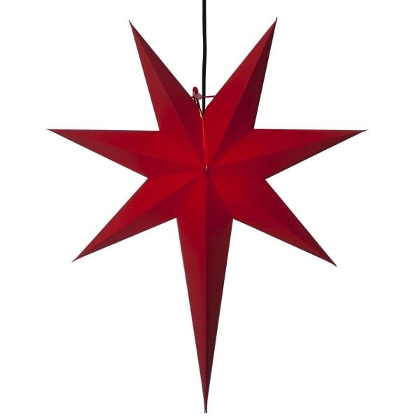 Rozen adventsstjärna 66cm röd