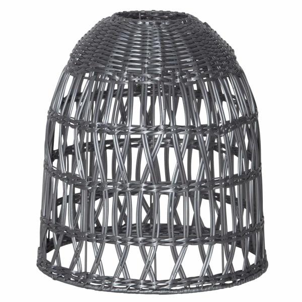 Lampskärm Knute 30 cm grå inklusive sladdställ