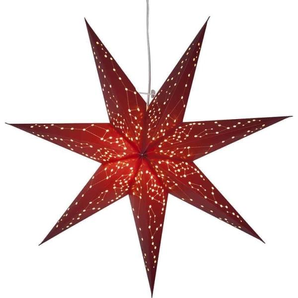 Galaxy adventsstjärna röd 60 cm