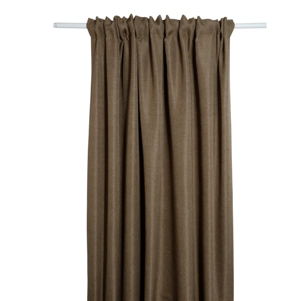 Gardin grovlinne multibandslängd 240cm Färg: Brun brun